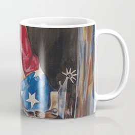 Red, White & Boot Coffee Mug