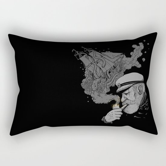 A Captains's Memory Rectangular Pillow
