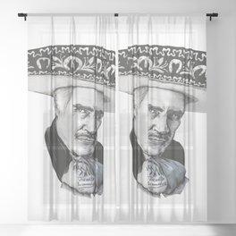 "Vicente ""Chente"" Fernandez Gomez Sheer Curtain"