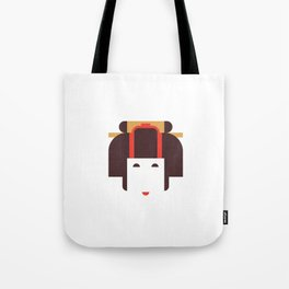 Japan Noble Woman Tote Bag