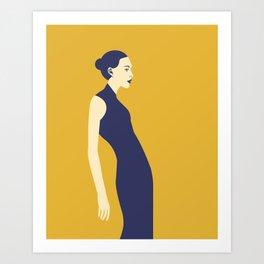 Celandine Yellow Art Print