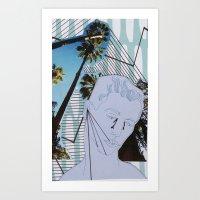 So Blue Art Print