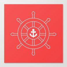 Nautical Wheel Canvas Print