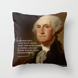 Participation Trophies Throw Pillow