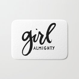 Girl Almighty Bath Mat