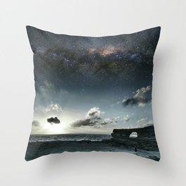 Arch Gozo Throw Pillow