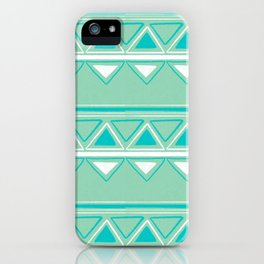 Green and Blue iPhone Case