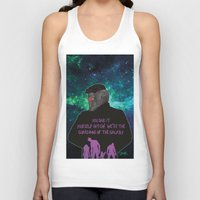 starlord Tank Tops featuring Starlord by Dgrafiks