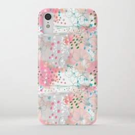 Flower abstract flow in the spring air iPhone Case