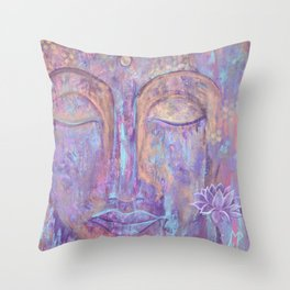 Breathing new life Throw Pillow