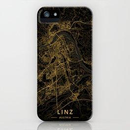 Linz, Austria - Gold iPhone Case