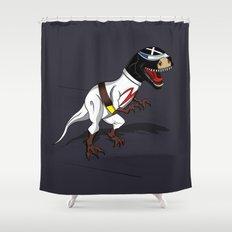 T-Rex (The X Roarcer) Shower Curtain