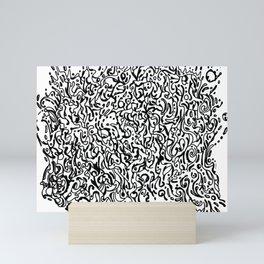 Doodle Splash Mini Art Print