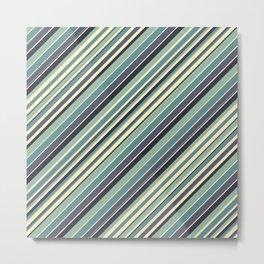 Just Stripes Metal Print