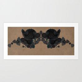 datadoodle kaleidoscope Art Print