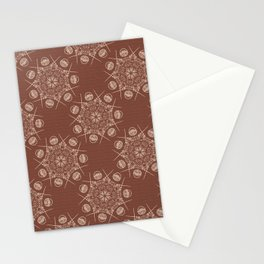 Trendy Knitting Crafts wool basket Stationery Cards