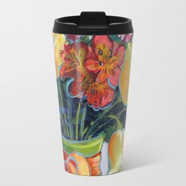 HAPPY BIRTHDAY FLOWERS Travel Mug