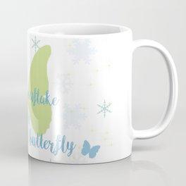 Winter Butterfly Coffee Mug