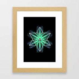 Merkaba Framed Art Print