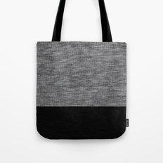 Athletic Grey and Black Tote Bag