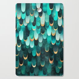 Feathered - Turquoise Cutting Board