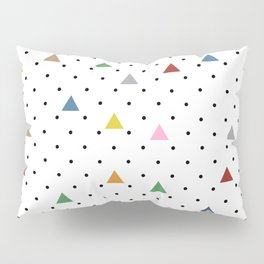 Pin Point Triangles Pillow Sham