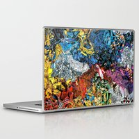 xmen Laptop & iPad Skins featuring The XMen by MelissaMoffatCollage