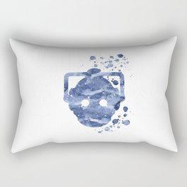 Cyberman Rectangular Pillow