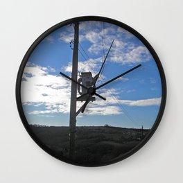 Sub Stereo 1 Wall Clock