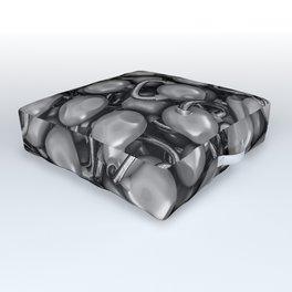Kettlebells B&W Outdoor Floor Cushion