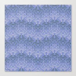 Isabella in Periwinkle Canvas Print