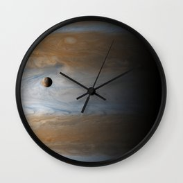 Above the Clouds – Jupiter and Io Wall Clock