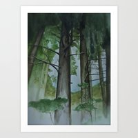 Summer in Bavaria Art Print
