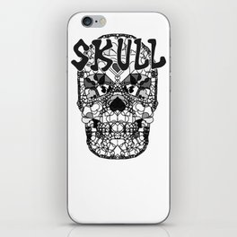 Skull - Día de Muertos / Day of the Dead iPhone Skin