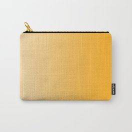 Pastel Orange to Orange Vertical Linear Gradient Carry-All Pouch