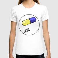 akira T-shirts featuring akira pill by tama-durden