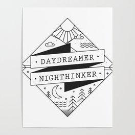 daydreamer nighthinker II Poster
