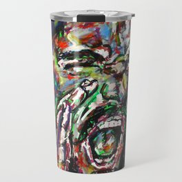Shouting Man Travel Mug