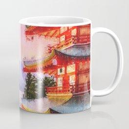 Spring on the Mount Fuji Coffee Mug