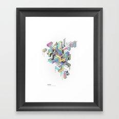 Tetral Framed Art Print
