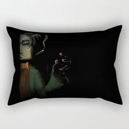Sasha Nein Rectangular Pillow