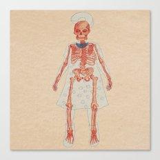 Bones. Questions series Canvas Print