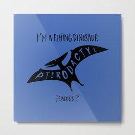 Flying Dinosaur 1 Metal Print