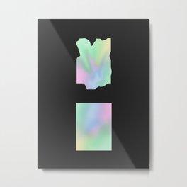 PYRAMID MIND Metal Print