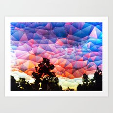 Carolina Sunset Art Print