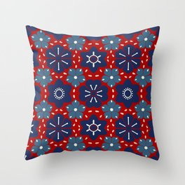 Japanese Styles Pattern 5 Throw Pillow