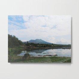 Mount Batur Metal Print