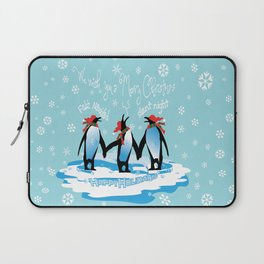 Merry Christmas from South Pole Laptop Sleeve