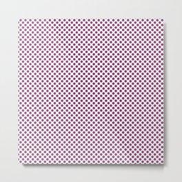 Clover Polka Dots Metal Print