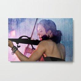 Serena Rose - Musician Metal Print